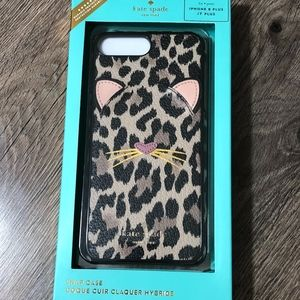KATE SPADE Leopard  iPhone 8 / 7 plus Case